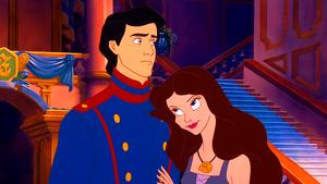 Walt Дисней Screencaps – Prince Eric & Vanessa
