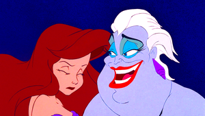 Walt Дисней Screencaps - Princess Ariel & Ursula