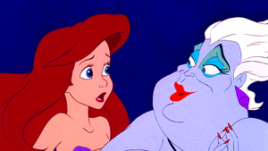 Walt डिज़्नी Screencaps - Princess Ariel & Ursula