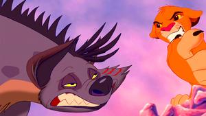 Walt Disney Screencaps - Shenzi & Simba