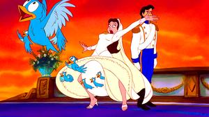 Walt disney Screencaps - The Blue Birds, Vanessa & Prince Eric