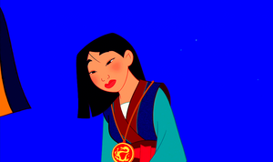 Walt Disney Screencaps - The Emperor of China & Fa Mulan