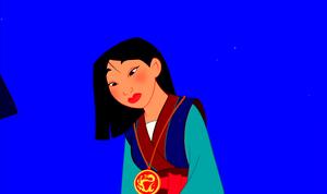 Walt 디즈니 Screencaps - The Emperor of China & Fa 뮬란
