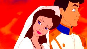 Walt Disney Screencaps – Vanessa & Prince Eric