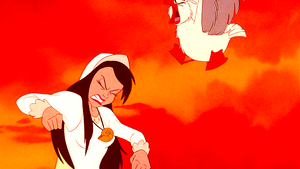 Walt Disney Screencaps – Vanessa & Scuttle
