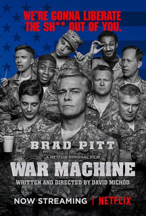 War Machine (2017) Poster