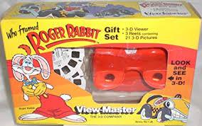 Who Framed Roger Rabbit View Master Gift Set
