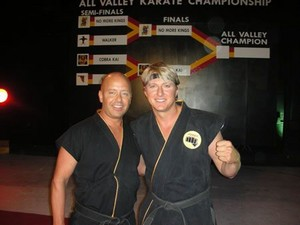 William Zabka and Ron Thomas