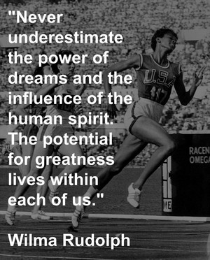 Wilma Rudolph Quote ✨