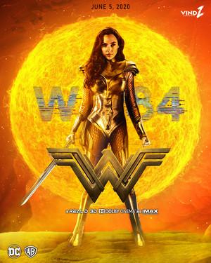 Wonder Woman 1984 (2020) -Movie Poster