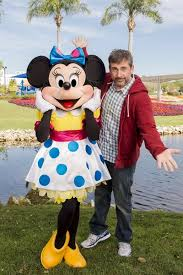 Steve Carrell And Minnie mouse