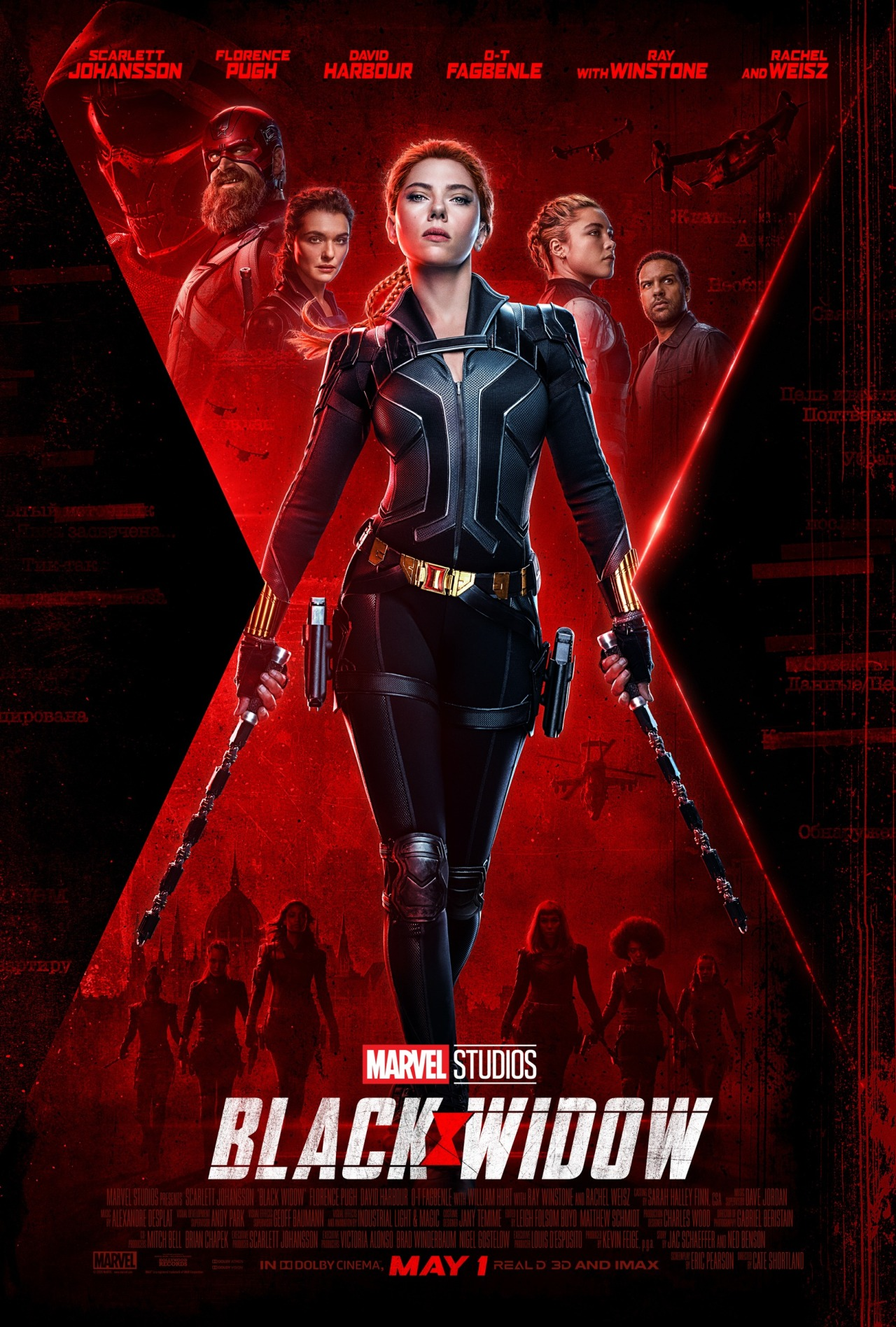 Black Widow (2020) Official Poster