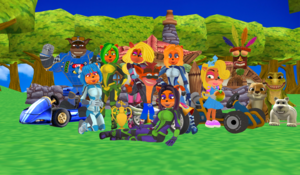 ! Crash Team Racing Nitro Kart Fueled Together