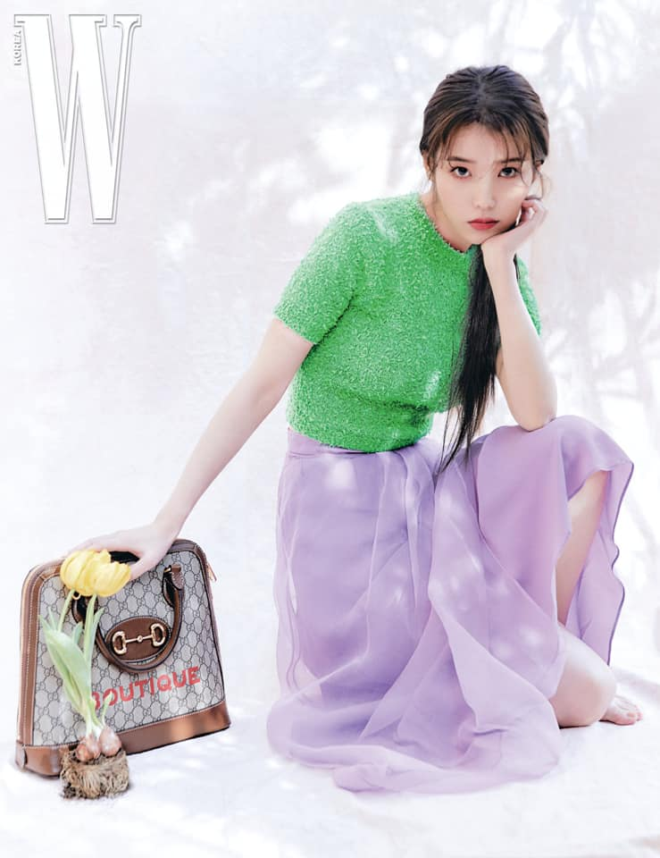 아이유(IU) 아이유 IU for W Korea Lucky Spring prebiyu