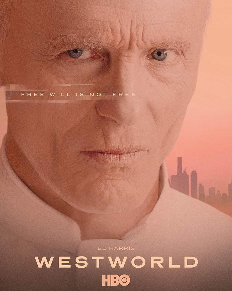 'Westworld' Season 3 Character Poster ~ The Man In Black/William