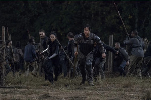 10x11 ~ Morning ster ~ Aaron, Rosita and Eugene