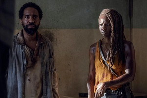 10x13 ~ What We Become ~ Michonne and Virgil