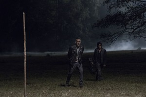 10x14 ~ Look at the Flowers ~ Daryl and Negan