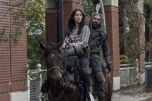 10x14 ~ Look at the fleurs ~ Yumiko and Ezekiel