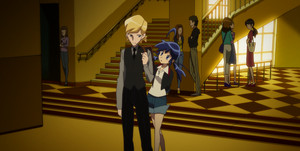 2012 Adrien and Marinette