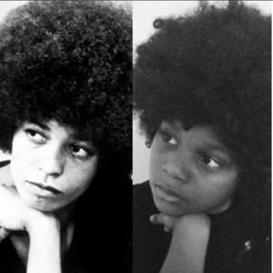 Young Girl Emulating Angela Davis