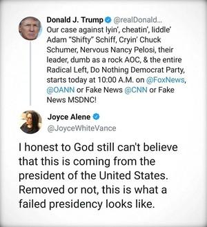 A Failed Presidency