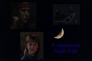 A Motorcycle Night Ride