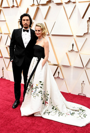 Adam Driver and Joanne Tucker - 92nd Annual Academy Awards - February 9, 2020