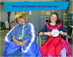 Alisa and Claudio