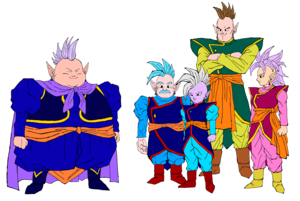 All the 5 Supreme Kais- DBM Coloring