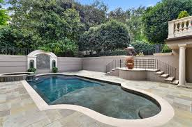 Backyard Swimming Pool Kenny Rogers' Old House