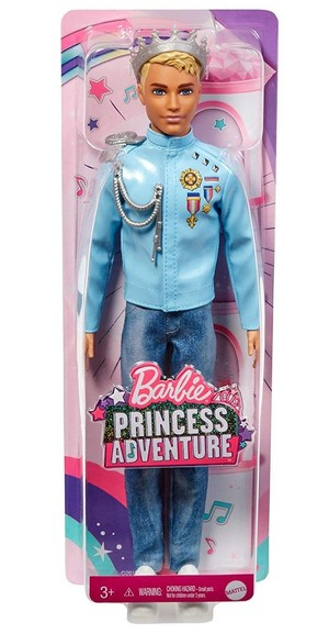 Barbie Princess Adventure - Ken Doll in Box