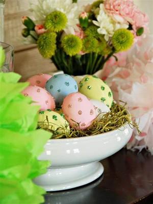 Beautiful Decorated Eggs 🐰