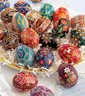 Beautiful Decorated Eggs 🐰