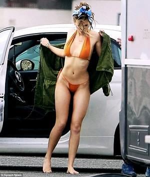Bella bikini fotografia shoot