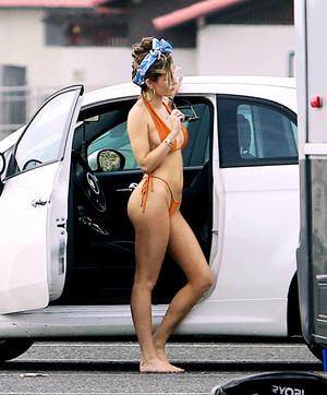 Bella bikini bức ảnh shoot