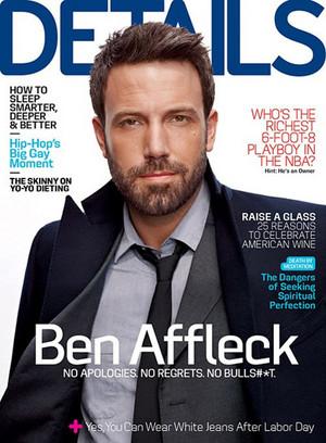 Ben Affleck - Details Cover - 2012