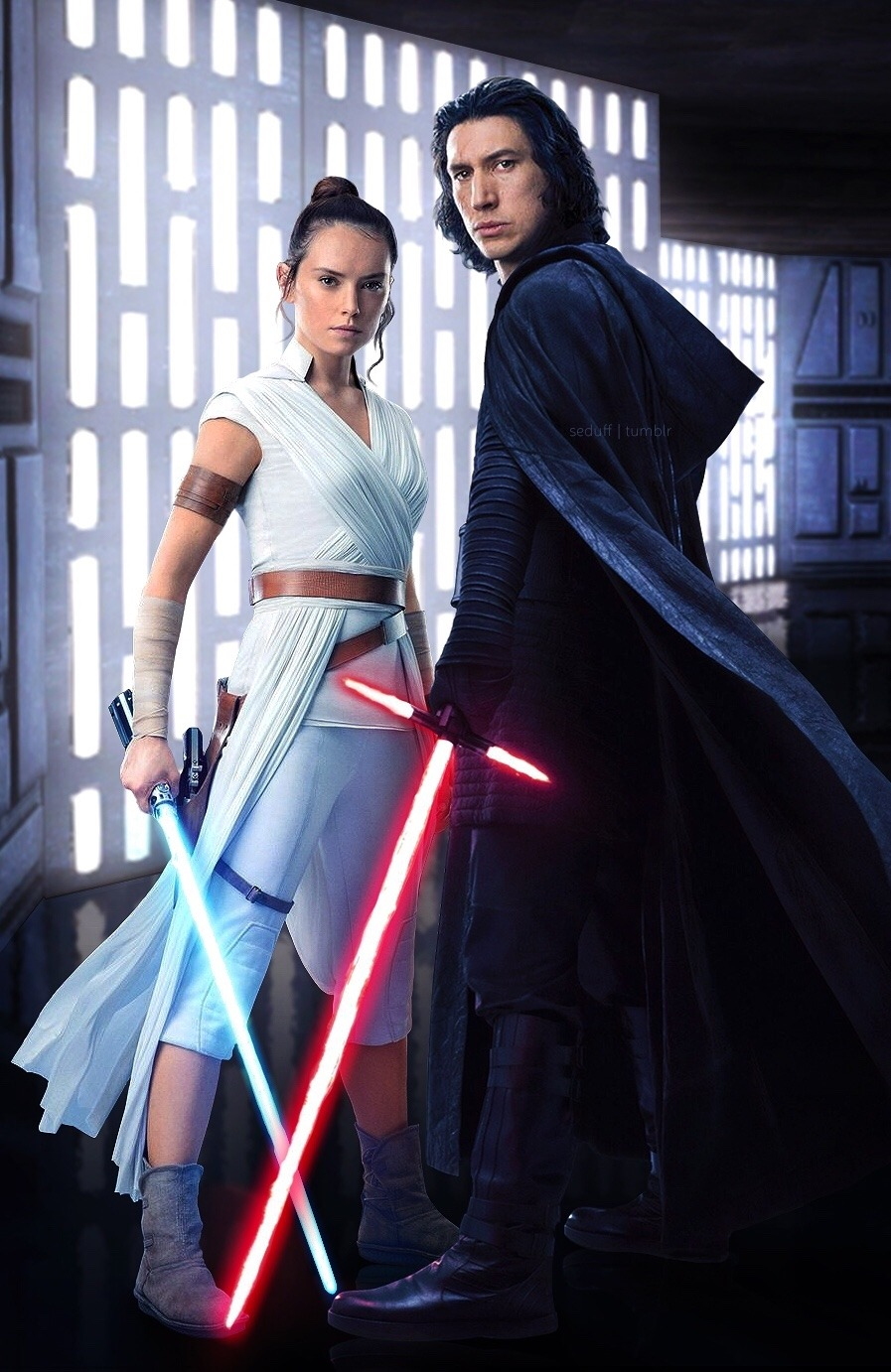 Ben Solo And Rey In The Rise Of Skywalker Etoile Etoile Star Wars Photo 43209871 Fanpop