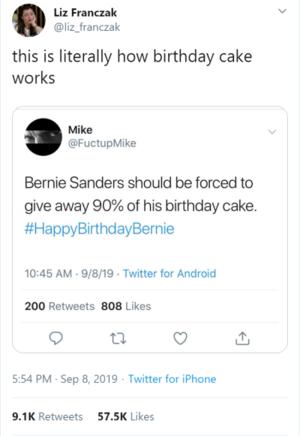 Bernie's Cake