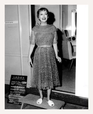 Bette Davis Costume Test