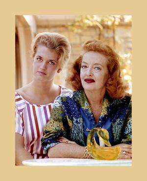 Bette Davis and Daughter B.D.