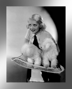 Bette Davis and Puppies