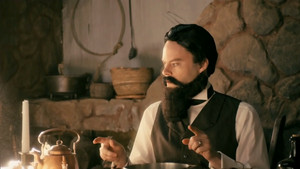 Bill Hader as John Pemberton in Drunk History