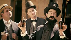 Bill Hader as John Pemberton in Drunk History