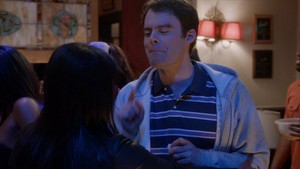 Bill Hader as Tom McDougall in The Mindy Project: Frat Party