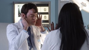 Bill Hader as Tom McDougall in The Mindy Project: Halloween