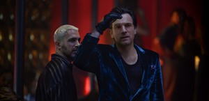 Birds of Prey (2020) Still - Victor Zsasz and Roman Sionis