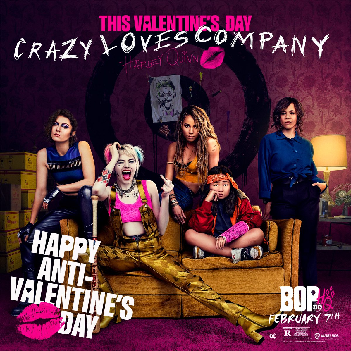 Birds Of Prey And The Fantabulous Emancipation Of One Harley Quinn 2020 Anti Valentine S Poster Birds Of Prey 2020 Photo 43229910 Fanpop Page 4