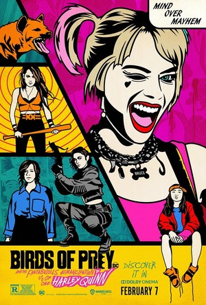 Birds of Prey (And the Fantabulous Emancipation of One Harley Quinn) (2020) Dolby Cinema Poster