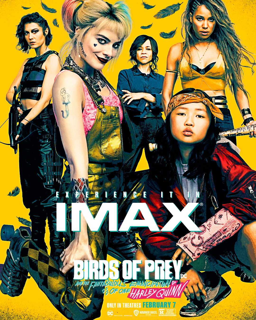 Birds Of Prey And The Fantabulous Emancipation Of One Harley Quinn 2020 Imax Poster Birds Of Prey 2020 Foto 43200105 Fanpop